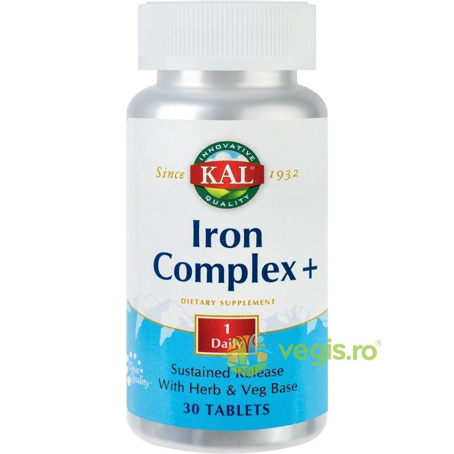 KAL Iron Complex+ 30cpr