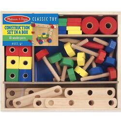 Construction set. Set din lemn de construit cu suruburi MELISSA AND DOUG