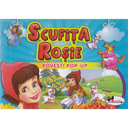 Scufita Rosie - Povesti Pop-up