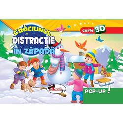 Pop-up 3D: Craciunul. Distractie in zapada