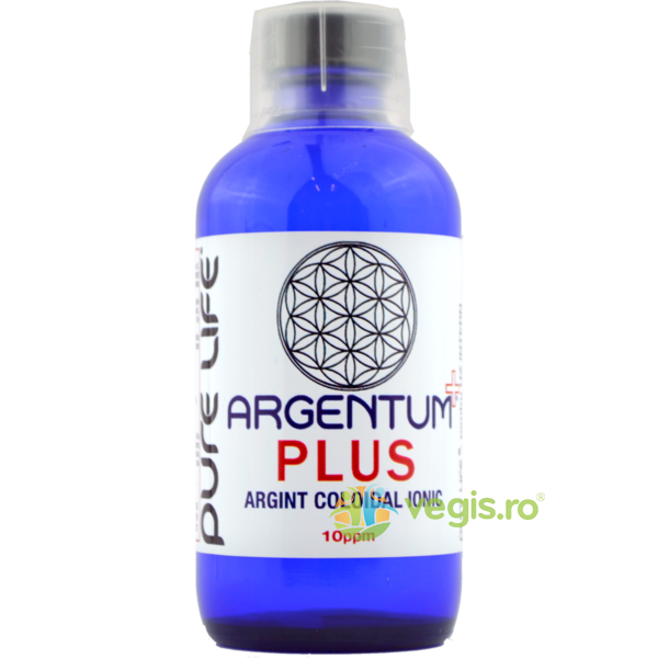 Argentum PLUS 10ppm 240ml PURE LIFE