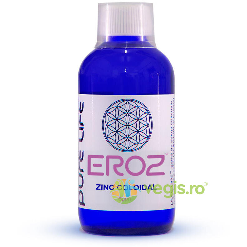 PURE LIFE Zinc coloidal M+ EROZ 5ppm 240ml