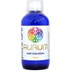 Aur coloidal M+ AURUM 20ppm 240ml PURE LIFE