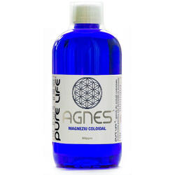 Magneziu coloidal M+ AGNES 50ppm 480ml PURE LIFE