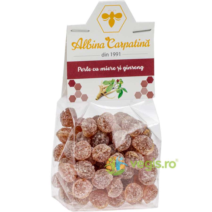 Perle cu Miere si Ginseng 100g