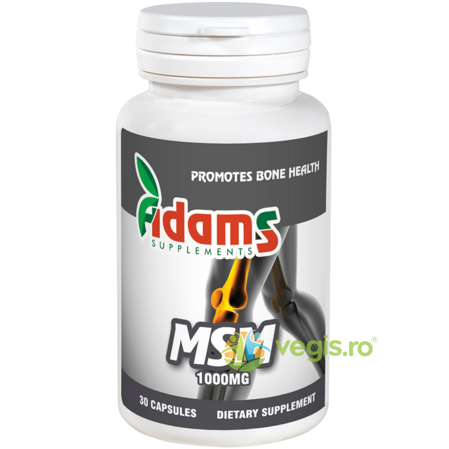ADAMS VISION MSM 1000mg 30cps