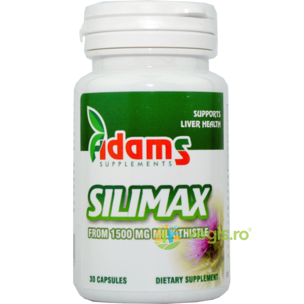 Pachet 1+1 Gratis Silimax 1500mg 30cpr ADAMS VISION