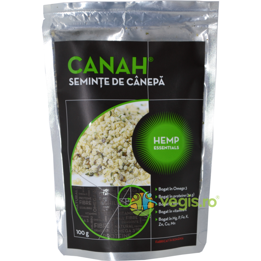 Seminte Decorticate de Canepa 100gr imagine produs 2021