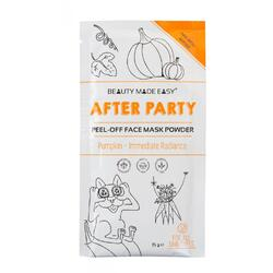 Masca Peel Off cu Dovleac pentru Stralucire - After Party 10g BEAUTY MADE EASY