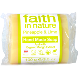 Sapun Natural cu Ananas si Lime 100g FAITH IN NATURE