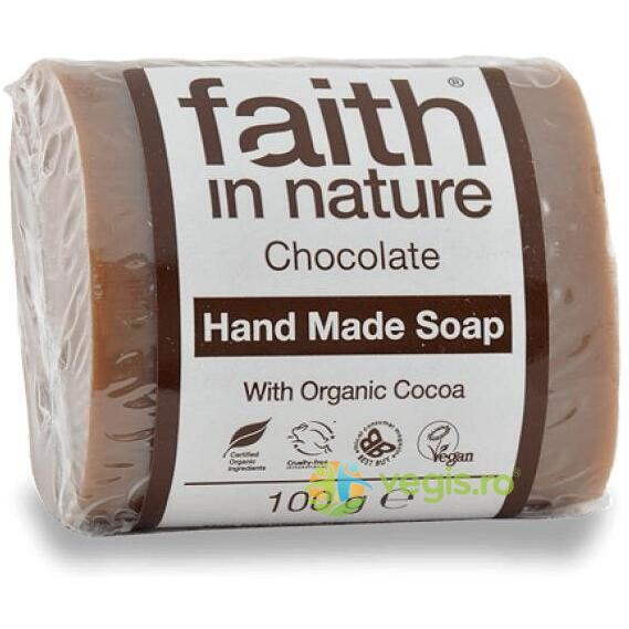 Sapun Natural cu Ciocolata 100g FAITH IN NATURE