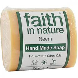 Sapun Natural cu Neem 100g FAITH IN NATURE