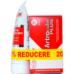 Pachet Artrocalm Plus 50cps+Artrocalm Gel 100ml FARMACLASS
