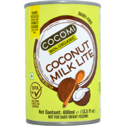 Lapte de Cocos Light 9% Grasime Ecologic/Bio 400ml COCOMI