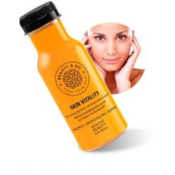 Bautura Ten Sanatos cu Antioxidanti Macro, Mandarine, Ginkgo Biloba si Guarana 250ml BEAUTY & GO