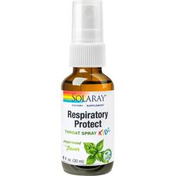 Respiratory Protect Throat Spray Kidz 30ml SOLARAY