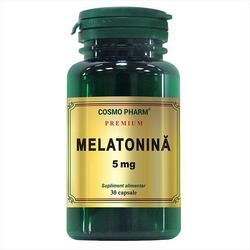 Melatonina 5mg 30cps Premium