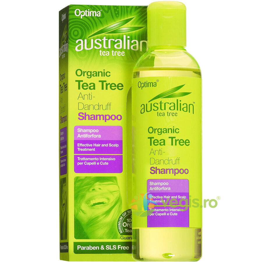 Sampon Antimatreata Cu Ulei Din Arbore De Ceai (Tea Tree) 250ml