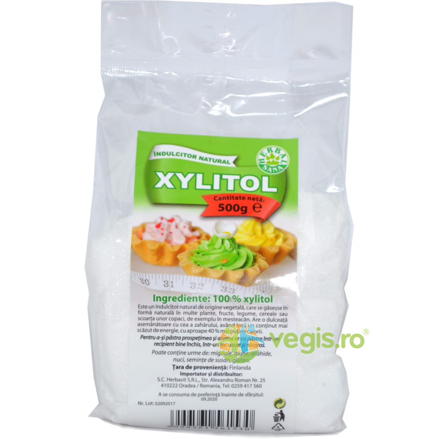 Xylitol (Xilitol) Indulcitor Natural 500g