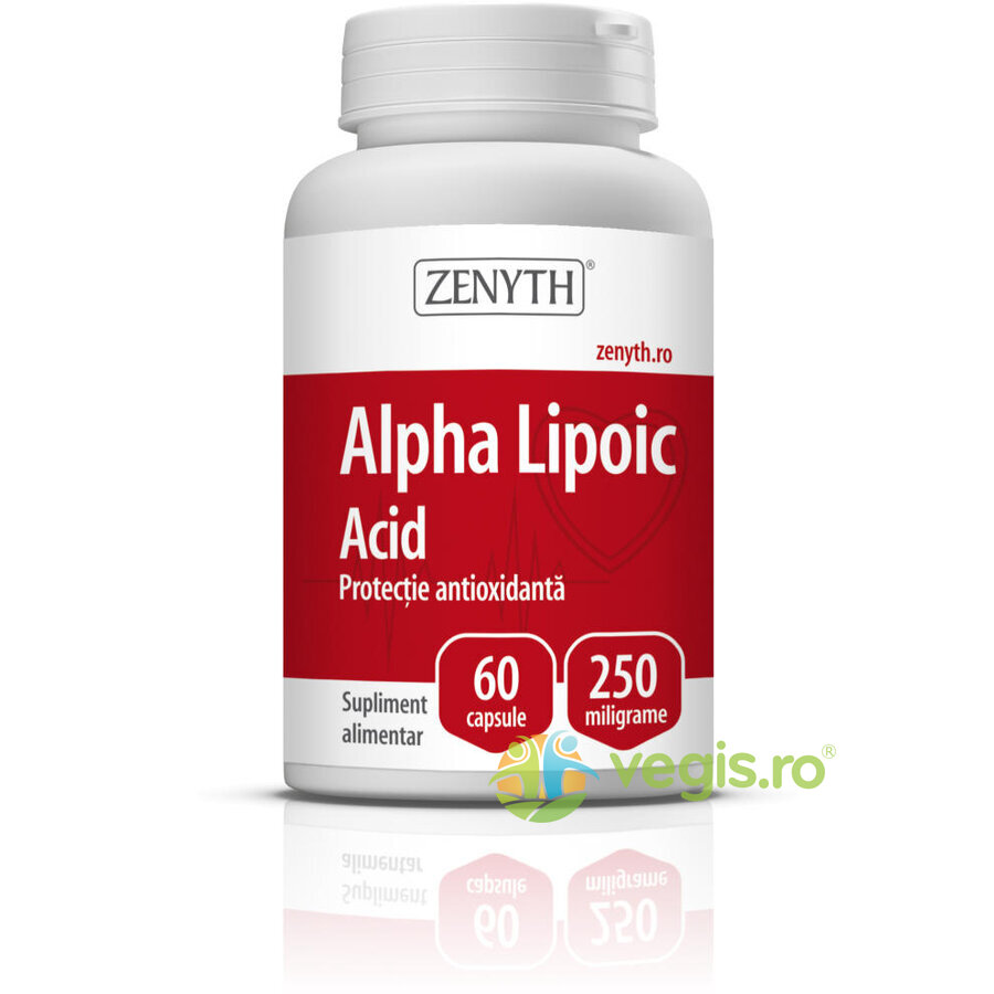 ZENYTH PHARMA Alpha Lipoic Acid 250mg 60cps