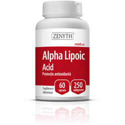 Alpha Lipoic Acid 250mg 60cps ZENYTH PHARMA