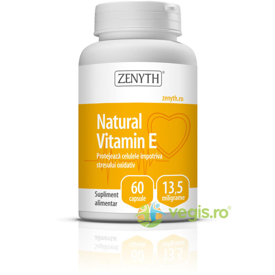 ZENYTH PHARMA Vitamina E Naturala 13.5mg 60cps