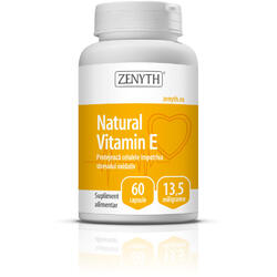Vitamina E Naturala 13.5mg 60cps ZENYTH PHARMA