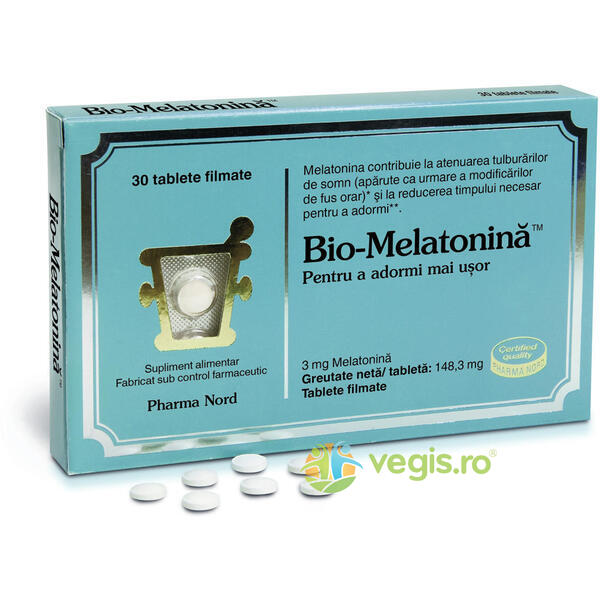 Bio Melatonina 3mg 30tb PHARMA NORD