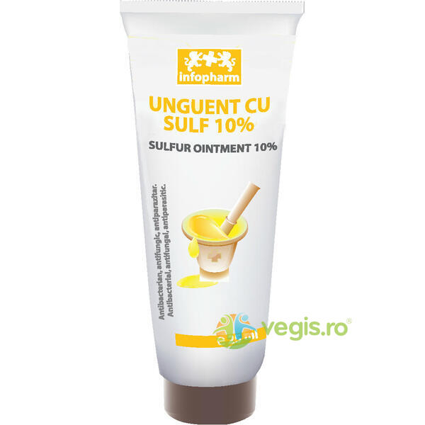 Unguent cu Sulf 10% 25ml INFOPHARM