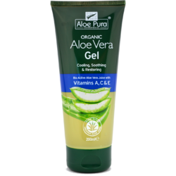 Gel Cu Aloe Vera Si Vitaminele A, C sI E 200ml OPTIMA