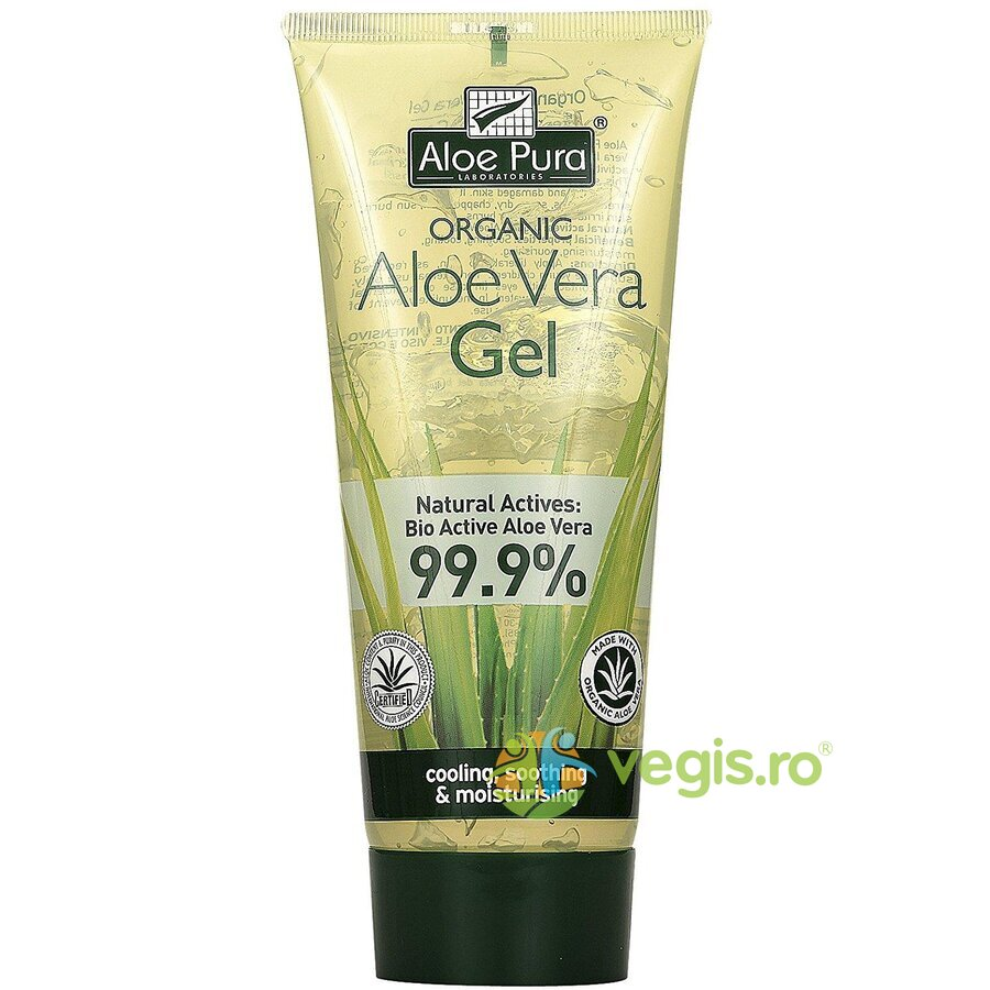 OPTIMA Gel Cu Aloe Vera 99.9% 200ml