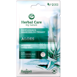 Herbal Care Masca Hidratanta Cu Aloe 2x5ml FARMONA