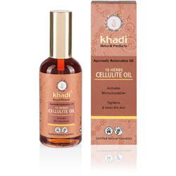 Ulei Anticelulitic 10 Plante 100ml KHADI