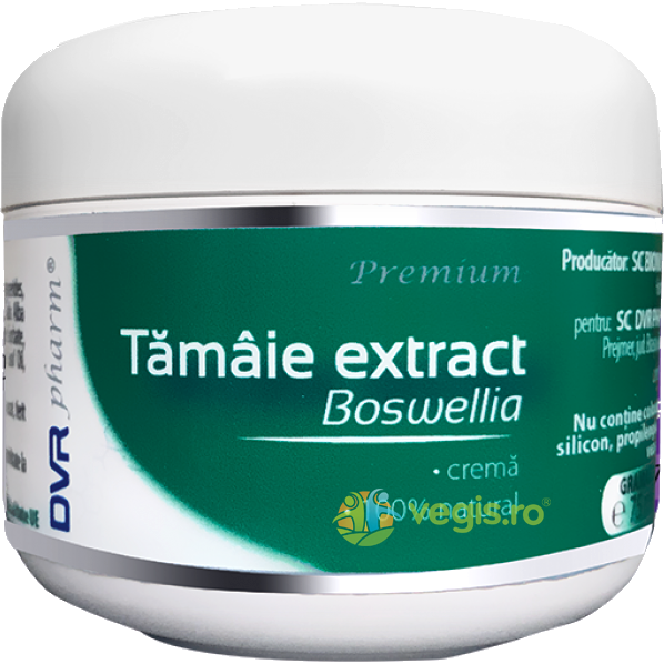 Crema Tamaie Extract (Boswellia) 75ml DVR PHARM