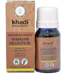 Ulei Anticelulitic 10 Plante 10ml KHADI