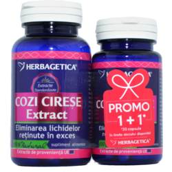 Cozi De Cirese Extract 60cps+30cps Pachet 1+1 Promo HERBAGETICA