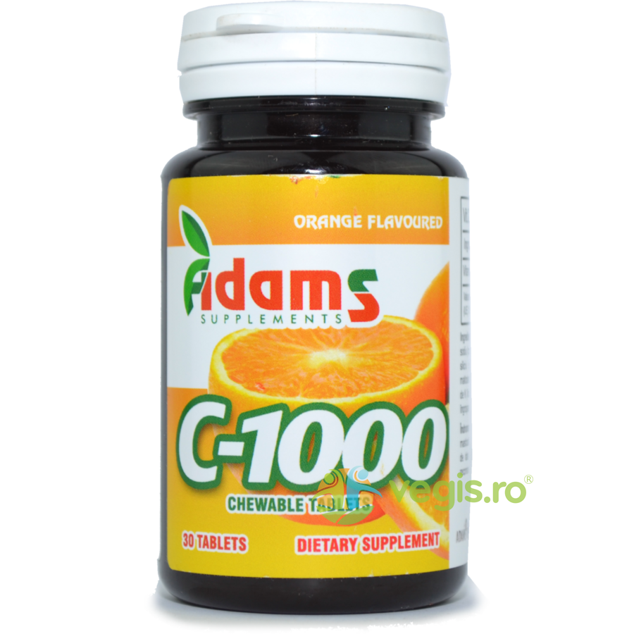 ADAMS VISION Vitamina C 1000mg 30tb Masticabile