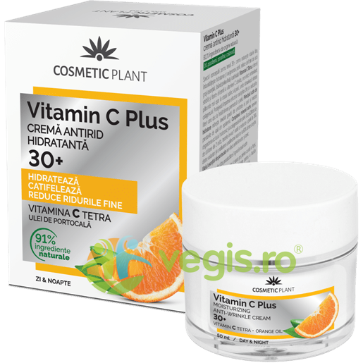 Vitamin C Plus Crema de Fata Antirid Hidratanta 30+ 50ml