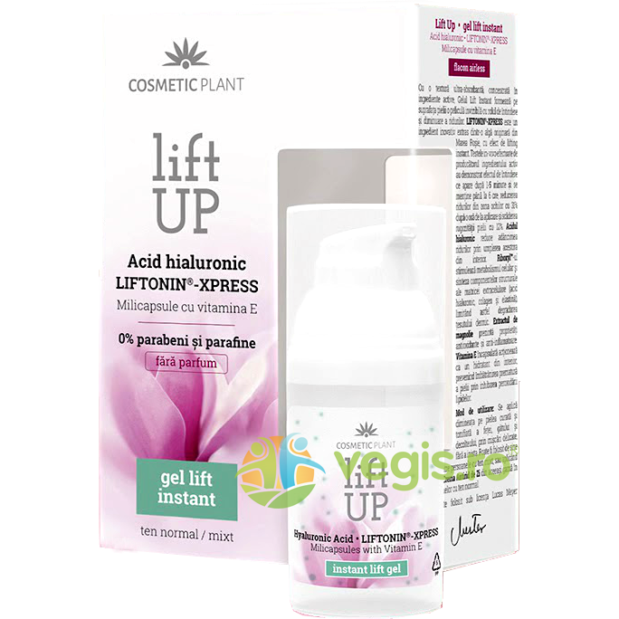 Gel Lift Up Instant pentru Ten Normal/Mixt 30ml