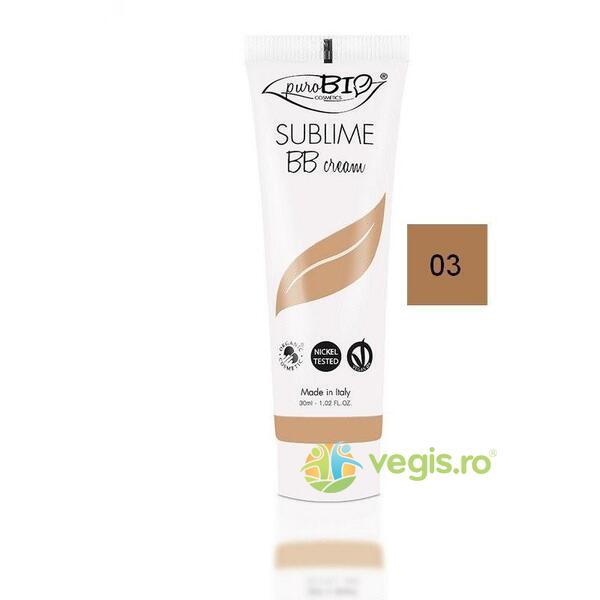 BB Cream Sublime n.03  30ml PUROBIO COSMETICS