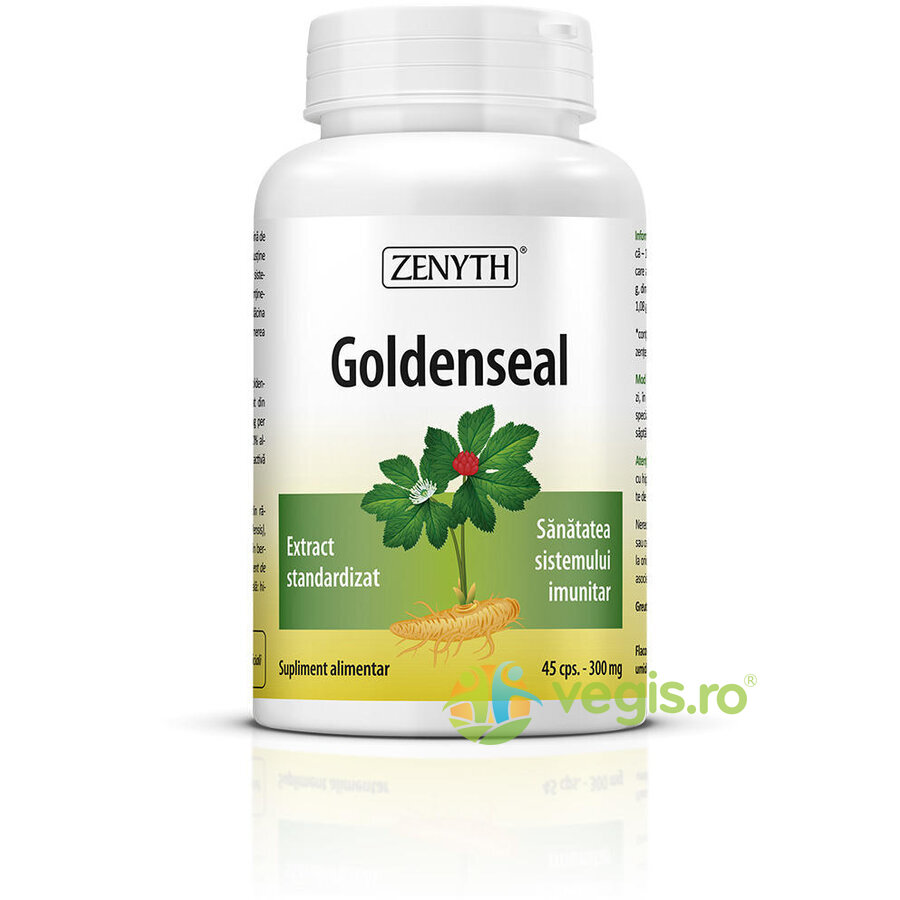ZENYTH PHARMA Goldenseal 300mg 45cps