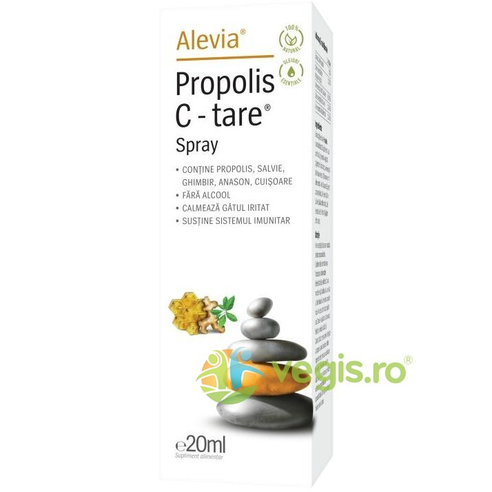 Propolis C-Tare Spray 100% Natural 20ml imagine