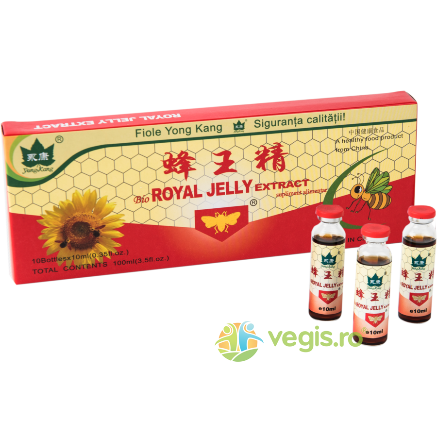 YONG KANG Royal Jelly 300mg 10 fiole*10ml