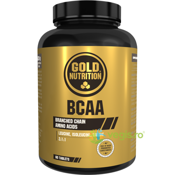 BCAA'S 60tb GOLD NUTRITION