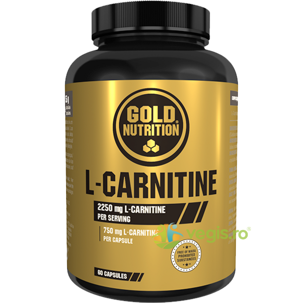 L-Carnitine 750mg 60cps GOLD NUTRITION