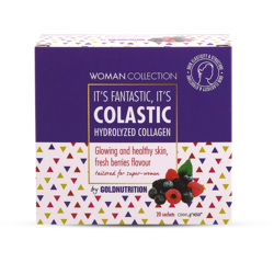 Woman Collection Colastic Colagen Hidrolizat cu Fructe de Padure 20dz GOLD NUTRITION