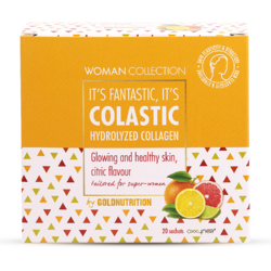 Woman Collection Colastic Colagen Hidrolizat cu Citrice 20dz GOLD NUTRITION