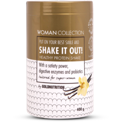 Woman Collection Shake It Out Pudra Proteica cu Vanilie 400g GOLD NUTRITION