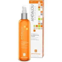 Brightening Lotiune Tonica pentru Luminozitate Ten Normal sau Mixt 178ml ANDALOU NATURALS