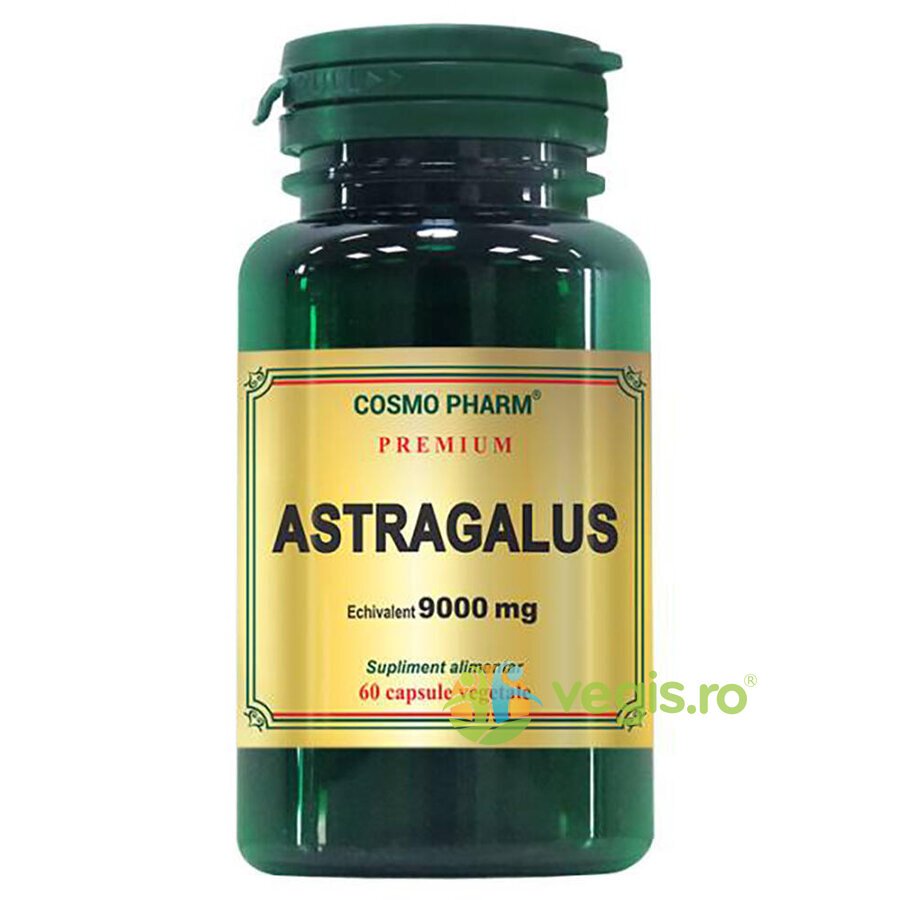 COSMOPHARM Astragalus Extract 450mg echivalent 9000mg 60cps Premium